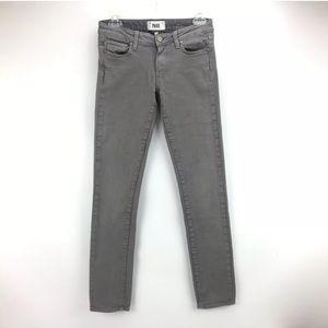 Paige Skyline Skinny Women's Gray Jeans Size 25